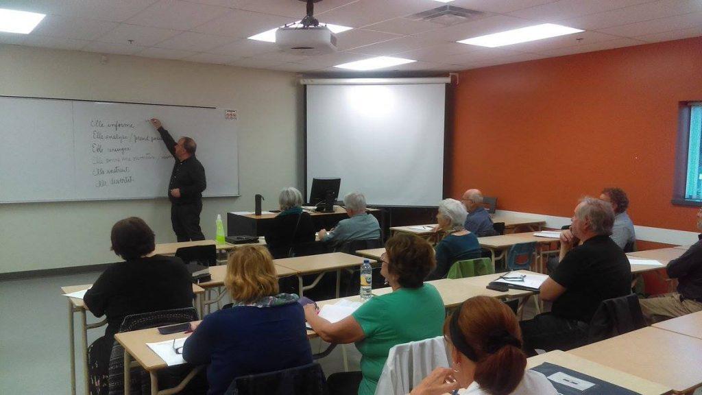 Les apprenants dans le cours de rédaction journalistique et texte d'opinion ont apprécié leur expérience.