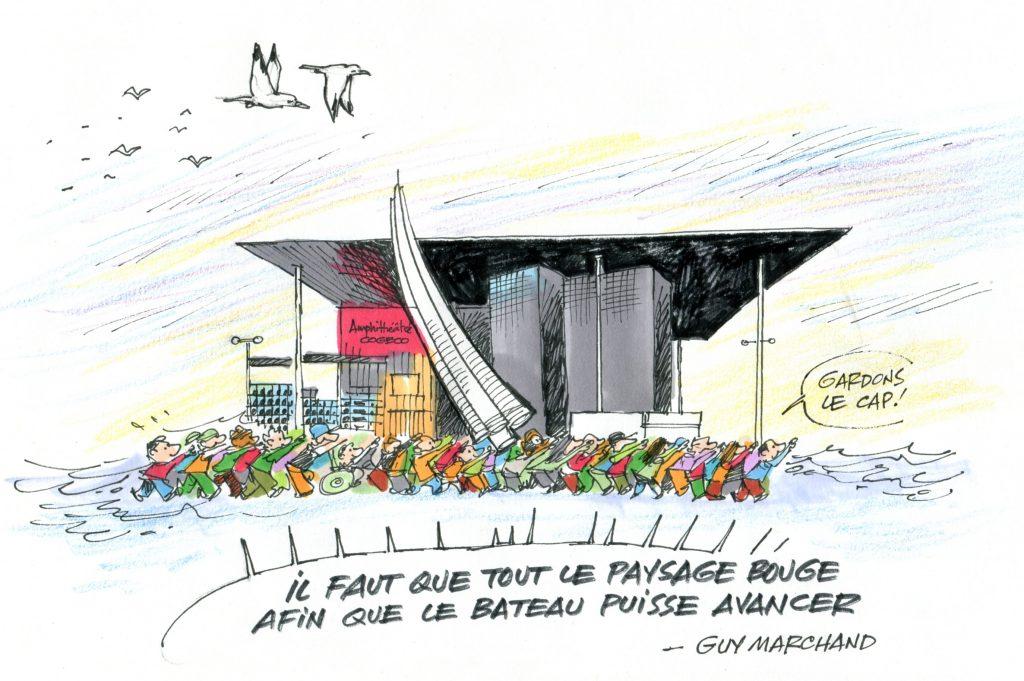 amphithéâtre de Trois-Rivières